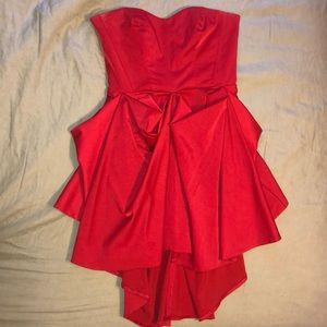 Red homecoming/prom/formal dress